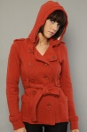The Michigan Ave II Jacket in Autumn Leaf Women's By Obey | $92