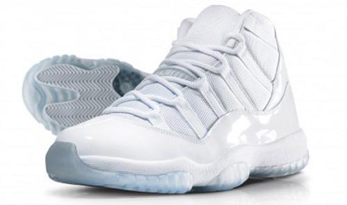 "factory price sale online shop Air Jordan XI (11) retro ""25th anniversary"" White/white | Legendary..."